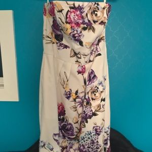 White House Black Market Floral Dress